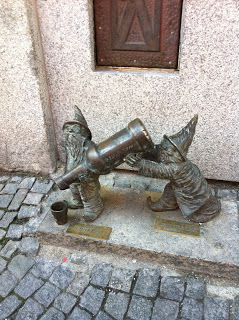 Poland gnomes -wrocław