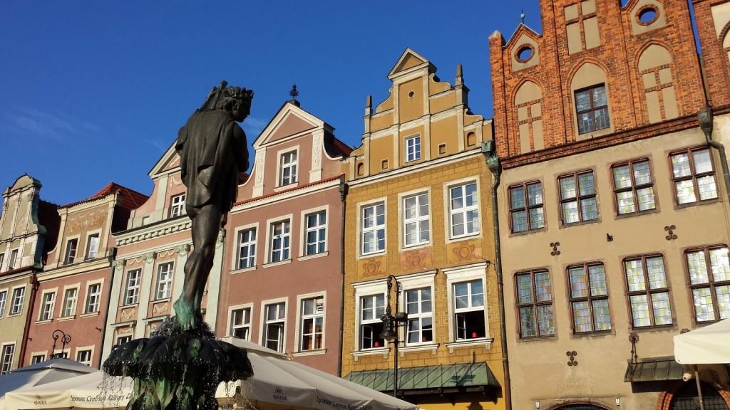 mazourkairispoznanrynekポズナン旧市街市庁舎広場