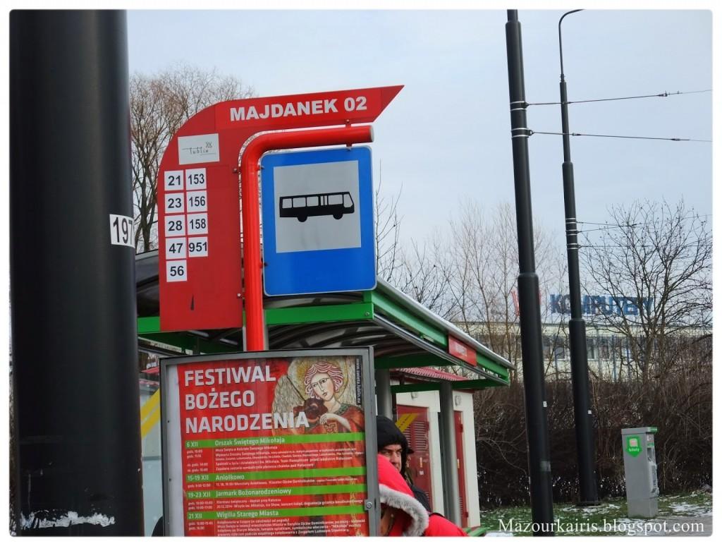 マイダネク収容所(ルブリン)行き方旧市街帰り方バス