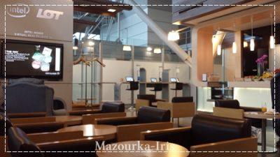 ポーランドワルシャワ観光ショパン空港ビジネスラウンジ