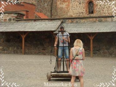 リトアニアヴィリニュストラカイ城行き方