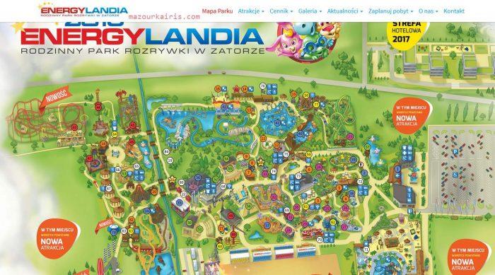 ポーランドの遊園地
