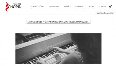 ワルシャワ観光ショパンピアノコンサート
