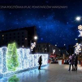 ワルシャワ旧市街イルミネーション2016