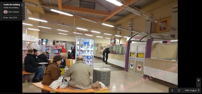 ポーランド郵便局荷物の送り方EMS書き方