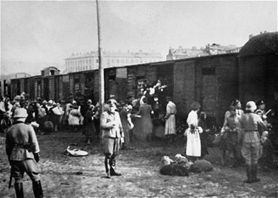 ユダヤ人歴史巡りウムシュラークプラッツ