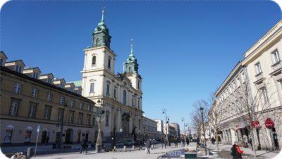 ポーランド観光個人ガイド聖十字架教会