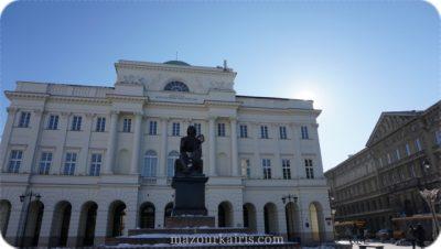 ポーランド観光個人ガイドコペルニクス像