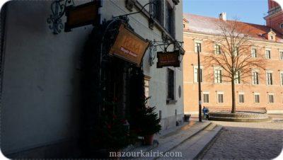 ポーランド観光個人ガイド旧市街POLKAポルカレストラン