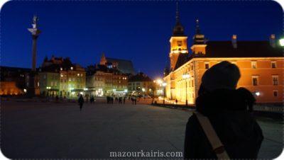 ポーランド観光個人ガイド旧市街夜景