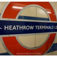 いざNZ旅行へ!まずはロンドン編
