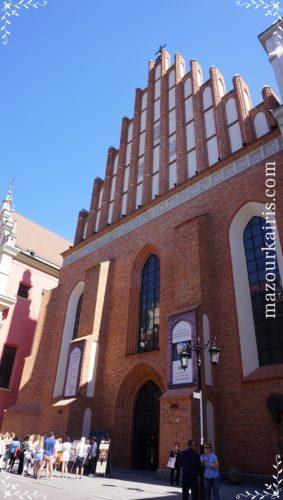 ワルシャワ旧市街洗礼者ヨハネ大聖堂