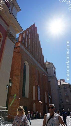 ワルシャワ旧市街建物洗礼者ヨハネ大聖堂