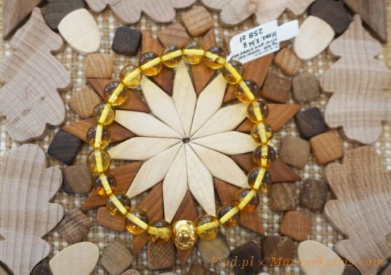 warsawjewelryポーランド琥珀ブレスレット