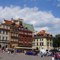 レクサスCM撮影ワルシャワ旧市街