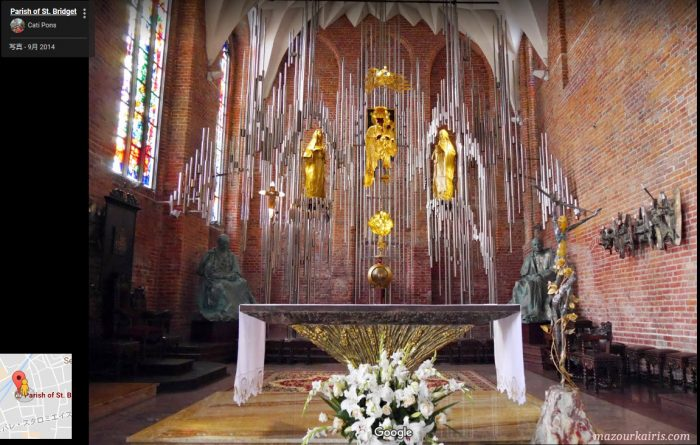 ポーランドグダンスク観光教会琥珀