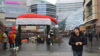 ワルシャワのクリスマスマーケットポーランドミコワイキ
